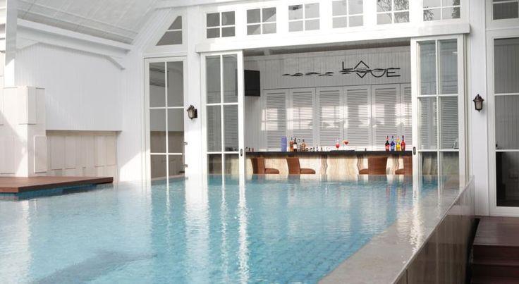 side of pool