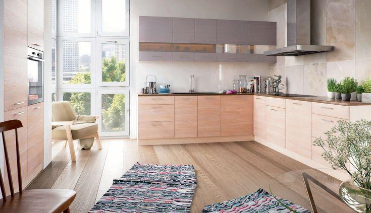 OLIWIA elemes konyhabútor szett 240cm  OLIWIA elemes konyhabútor szett 2,4 m a skandináv stílus kedvelőinek. Kellemes megjelenésű, természetes hatású konyhabútor, kiváló ár/érték aránnyal. A frontok MDF-ből készülnek, az ajtók és fiókok önfékező vasalatokkal szereltek.
