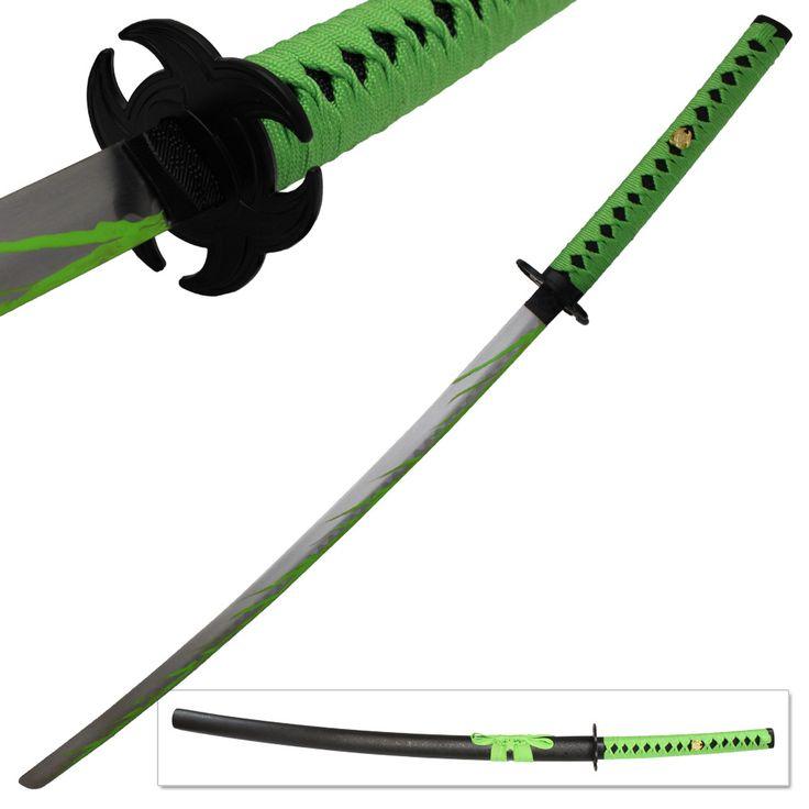 biohazard zombie slayer katana sword