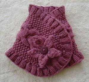 Petit col au tricot : les explications !