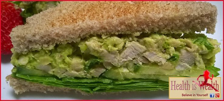 Strong and Beyond: Avocado Chicken Salad – would make a super lettuce wrap filli