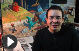 Origins and Ideas  In this video Shaun Tan talks about where the origins and ideas for his latest book Rules of Summer came from.
