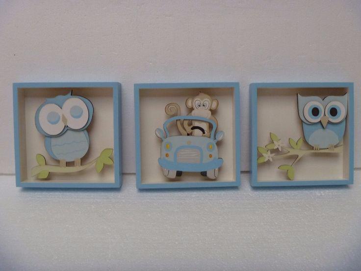 Cuadros para el cuarto de tus ni os bebe decoracion - Cuadros decorativos para ninos ...