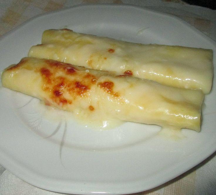 Cannelloni con ricotta e zucchine,ricetta leggera