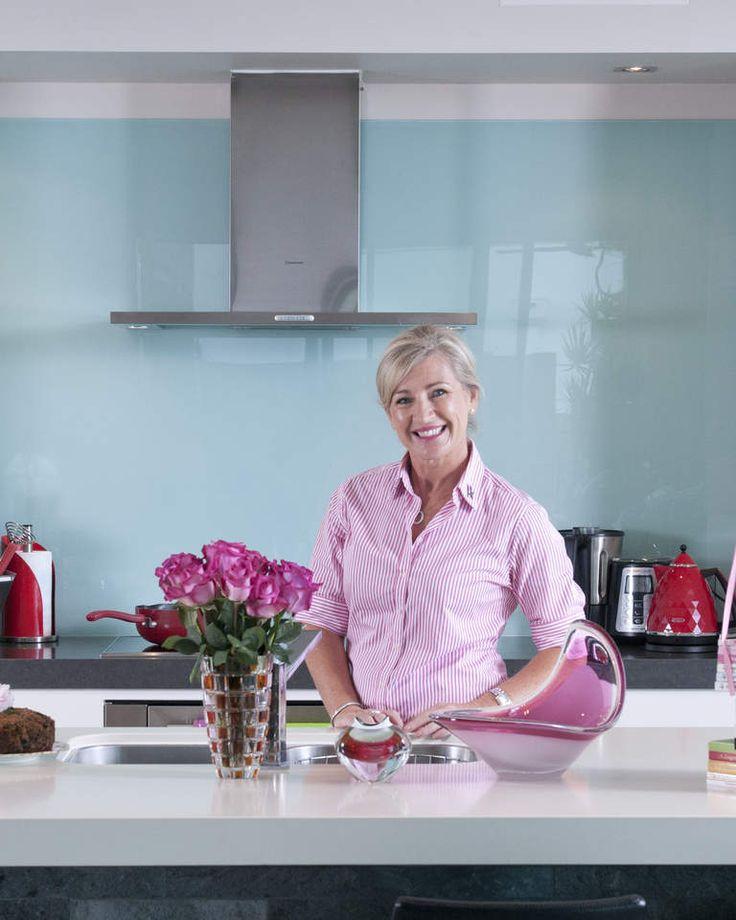 Cookbook author Kim McCosker in her Brisbane kitchen.