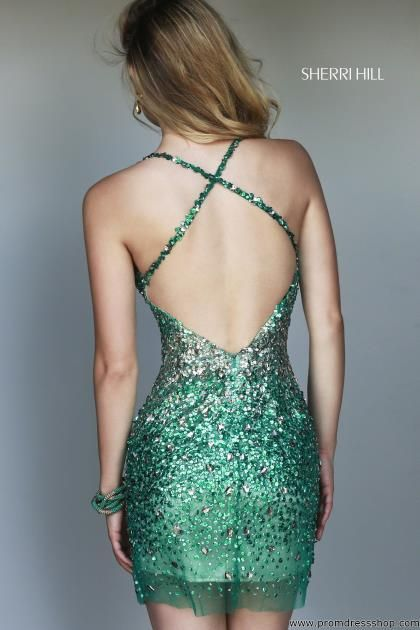 Sherri Hill Short Dress 9715 at Prom Dress Shop