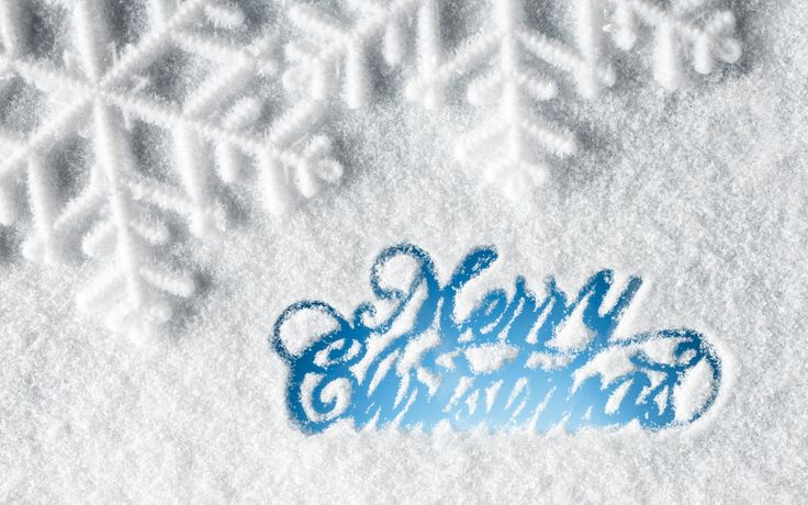 Ice Blue Merry Christmas HD Wallpapers High Resolution #4253   HD ...