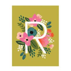 Rifle Paper Company Monogram Stationary