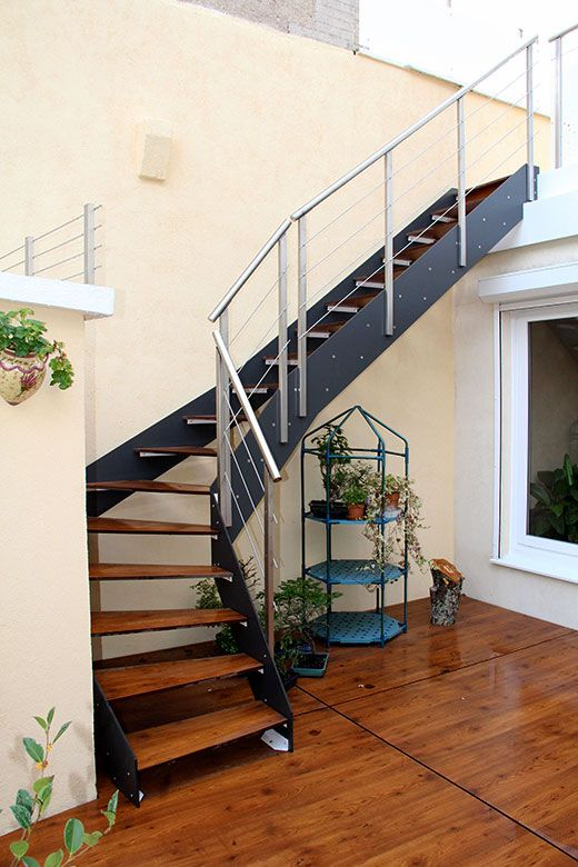 9 best Escaliers Extérieur images on Pinterest External staircase