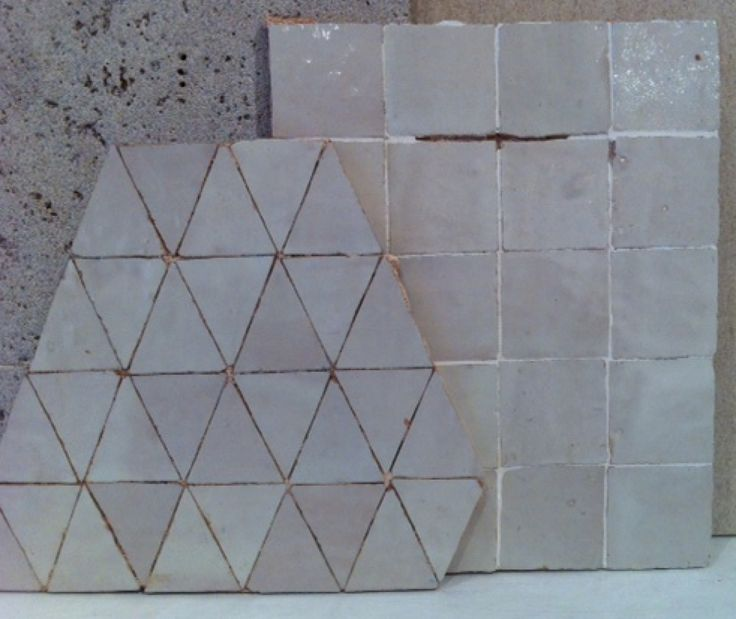 hand made Moroccan tiles
