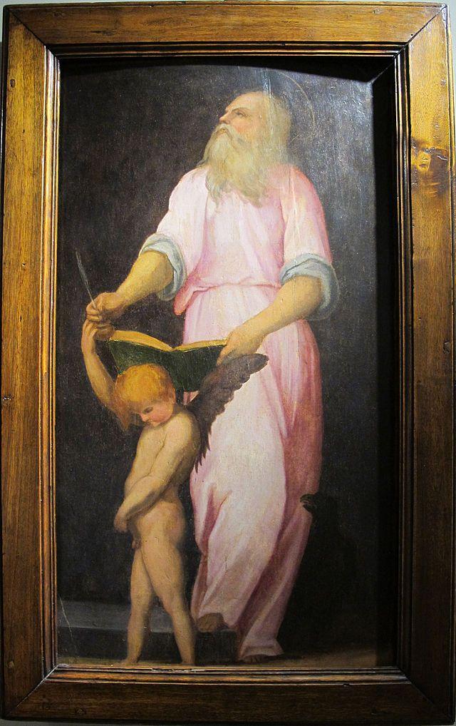 Pontormo, s.g. evangelista, 1514 ca. 01 - Category:Carro di San Giovanni Battista - Wikimedia Commons