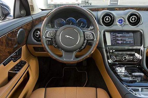 Opulent interior sets Jaguar XJL apart from other luxury sedans