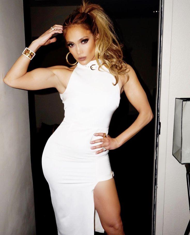 Jennifer Lawrence Wears a Sheer Atelier Versace Dress to