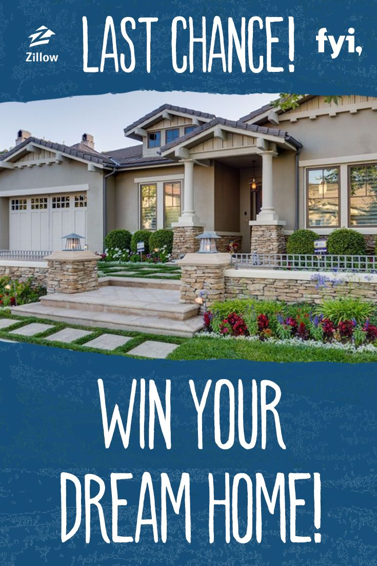Don 39 t miss out on your last shot to win your dream home for Win a home contest