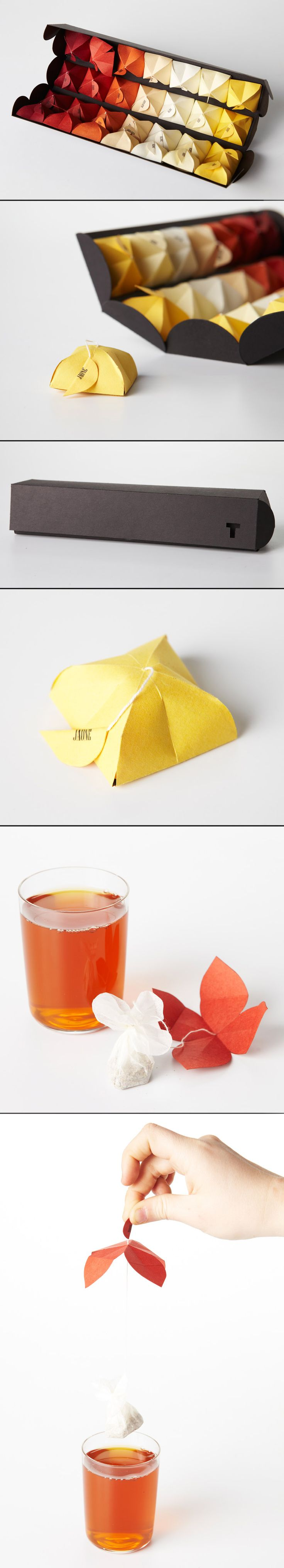 Such an original packaging idea. Makes me love tea even more (if possible)