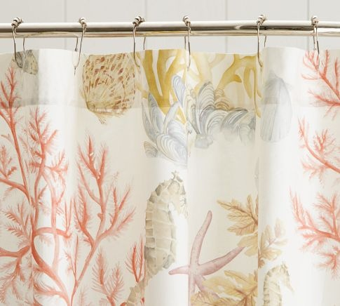 Coral Shower Curtain Hooks. Find shower curtain hooks and accessories for an easy bathroom update  31 best Accessorize the Bath images on Pinterest Bathroom ideas