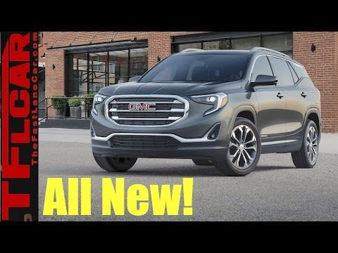 cool Car and Truck videos - 2018 GMC Terrain: Now with New Push Button Transmission & Diesel Engine Option #Cars &  #Trucks
