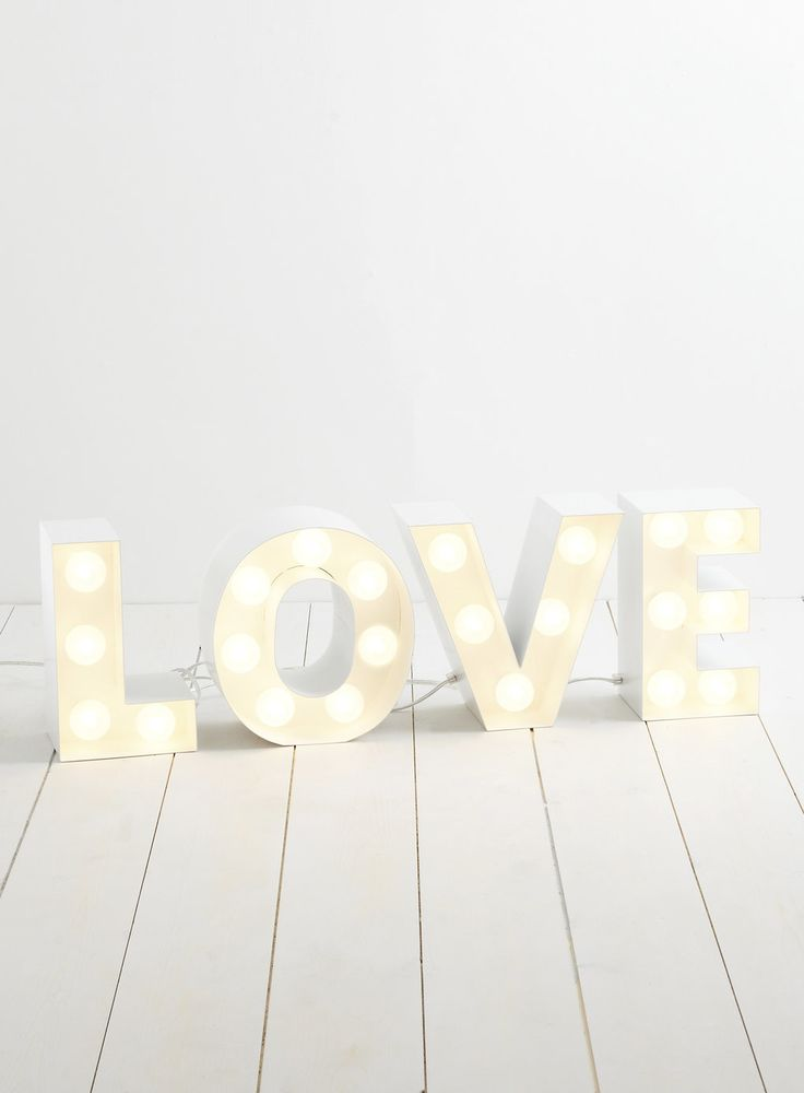 Holly Willoughby Love Table Lamp Bhs