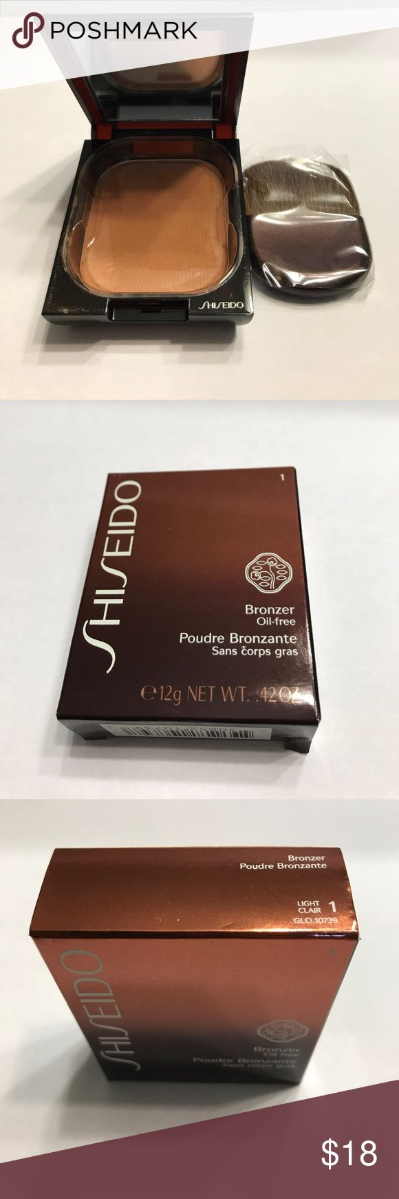 Shiseido Bronzer Oil-Free Light 1 Shiseido Makeup Bronzer