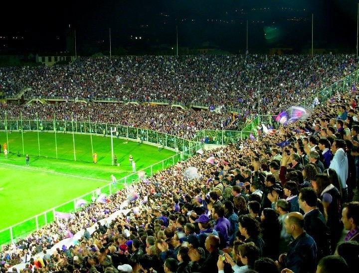 Curva Fiesole Firenze (Fiesole End Florence) Stadio Artemio Franchi