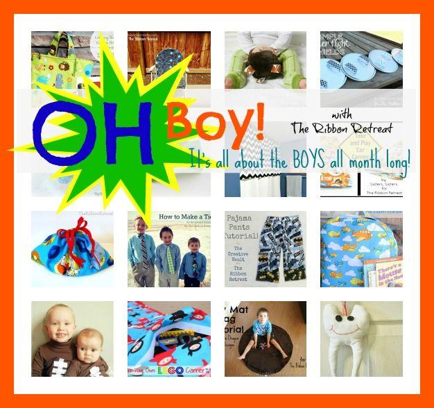 Oh Boy! Series - The Ribbon Retreat Blog