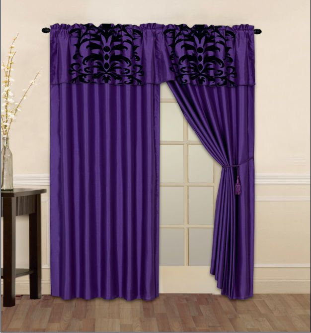 curtain panels liner tassel blackout curtains window curtains curtain. Black Bedroom Furniture Sets. Home Design Ideas