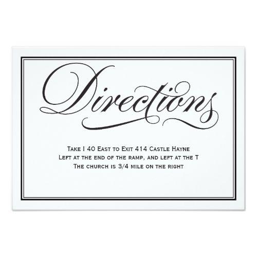Best 25 Wedding Direction Cards Ideas On Pinterest Diy