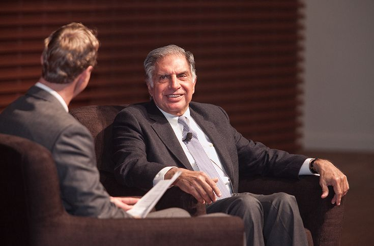 Ratan Tata: The Future of Business in India  by Stanford Graduate School of Business via slideshare