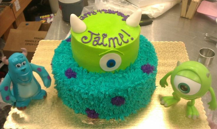 monsters university birthday cake | Monsters University cake...one of my favorites ...