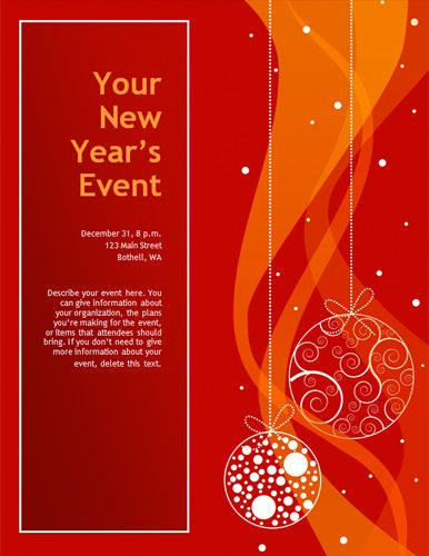 50 best Christmas Flyers images on Pinterest Card patterns, Card - download free flyer templates word