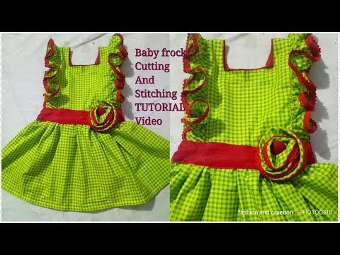 Casual dresses /how to make baby frock/beautiful baby frock