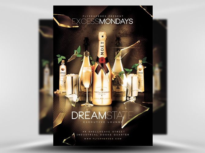 Excess Mondays Free Flyer Template https://noobworx.com/store/excess-mondays-free-flyer-template/?utm_campaign=coschedule&utm_source=pinterest&utm_medium=NoobWorx&utm_content=Excess%20Mondays%20Free%20Flyer%20Template #free #flyer #template