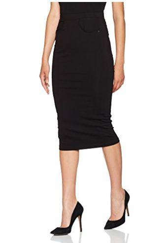 Falda tubo negra #Amazonmoda #Modamujer #Moda2017/2018 #Falda #Outfit #fashion #Shopping