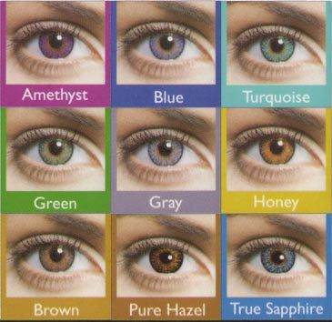 FreshLook ColorBlends by CIBA Vision circle lens colored contact lenses cosmetic fashion eye contacts