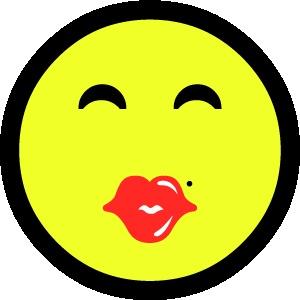 smiley 1 kust 2 sticker