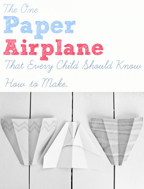 how to make the best paper airplane in the universe