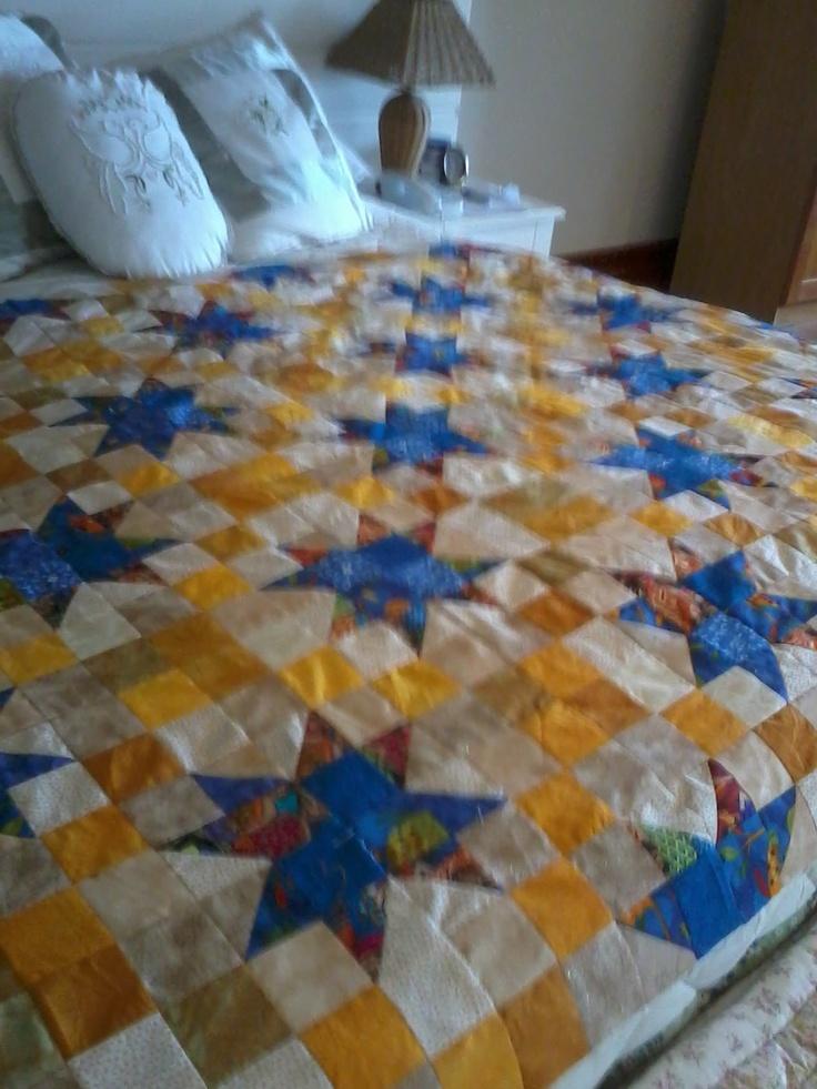 Work in progress, my 1st mystery quilt.
