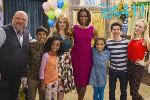 """""""Jessie"""" Episode """"From The White House To Our House"""" With First Lady Michelle Obama Airs On Disney Channel May 16, 2014"""