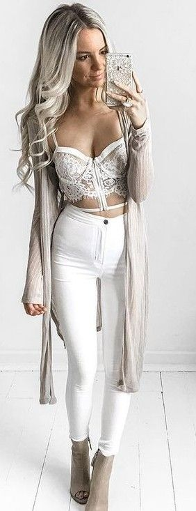 #summer #kirstyfleming #outfits | White + Tan