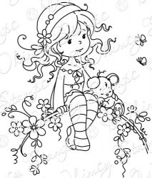 Sweet Blossom. @Robin Howard have you seen these coloring pages??