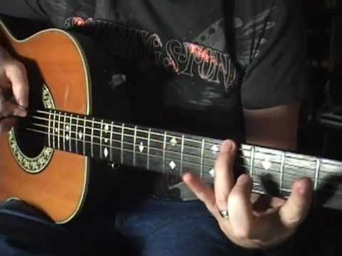 Basic Guitar NON SCALE Lesson By Scott Grove NO TABS OR NOTATION