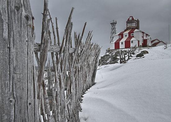 Lighthouse at Cape Bonavista, Newfoundland