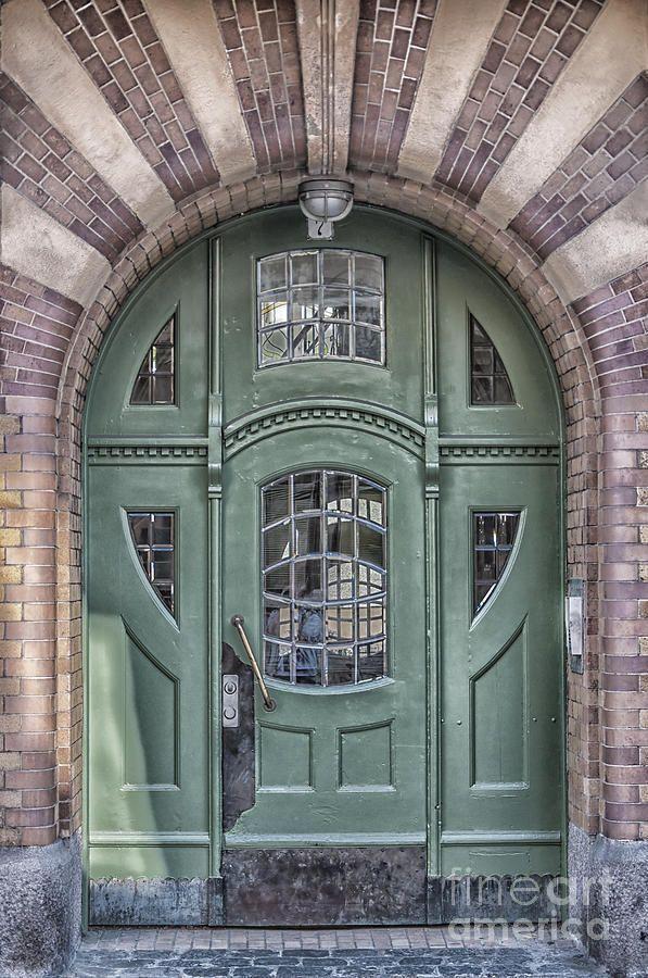 Puerta de estilo Art Deco - Ystad, Suecia