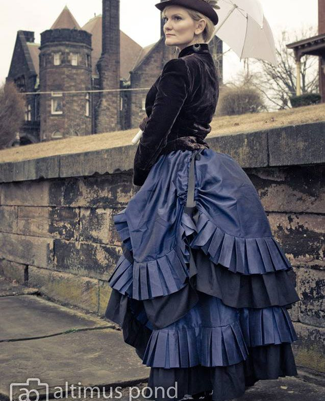 25 best Outfit Photos From Our Customers images on ... Victorian Bustle Gowns