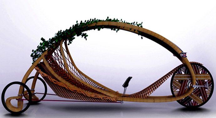 Ajiro:Il triciclo che non si costruisce ma cresce! #bambù #bamboo @Onlymoso