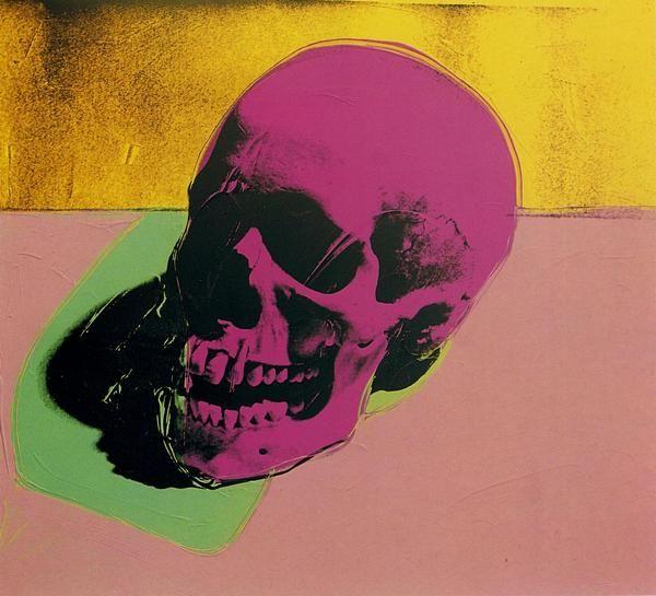 Andy Warhol Skull: Dem Bonesart, 01Warholskull1976Jpg 17011530, Pop Art, Skull Prints, 01Warholskull1976Jpg 21261912, Andywarhol, Skull Art, Warhol Museums, Andy Warhol Skull