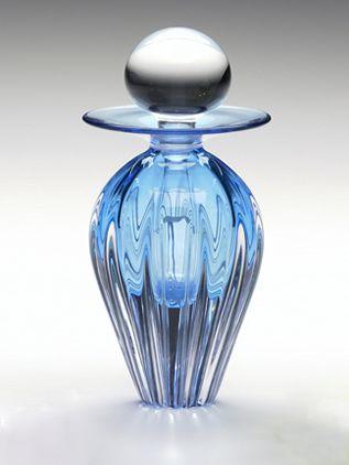 SQUARE RIB Perfume Bottle