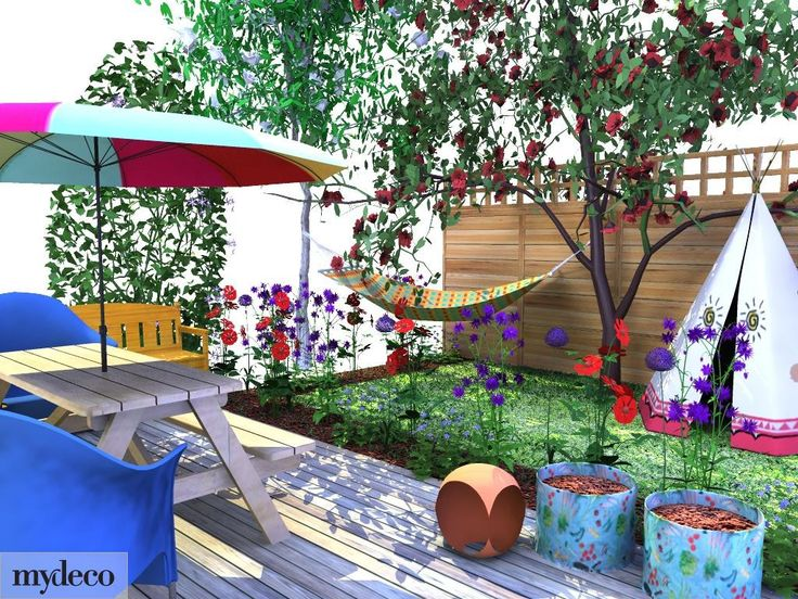 Garden ideas top 22 nice pictures child friendly garden for Children friendly garden designs