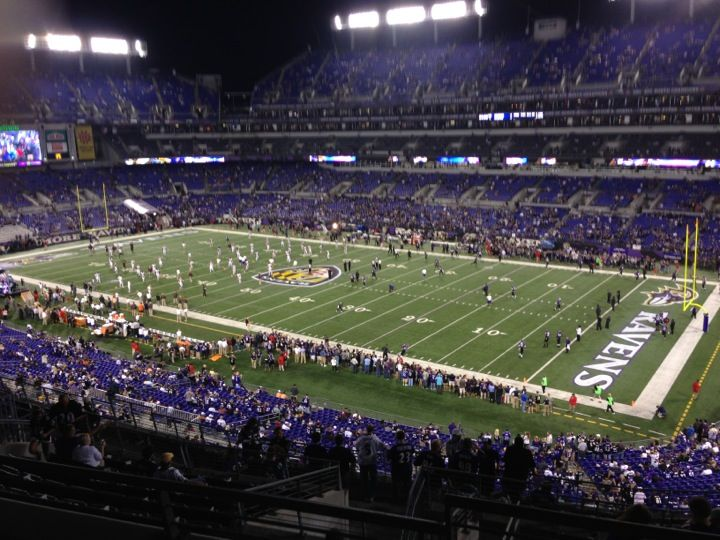 M&T Bank Stadium is home to the Baltimore Ravens (2013 #Superbowl Champions). It it is the only #NFL stadium to achieve #LEED Gold certification for Existing Buildings: Operation & Maintenance, which it was awarded in 2013.