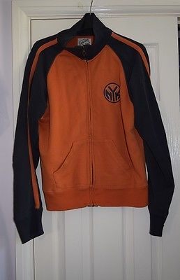 Rare #ladies new york knicks orange blue #jacket zip up coat l/14 #basketball nyc,  View more on the LINK: http://www.zeppy.io/product/gb/2/272242153288/